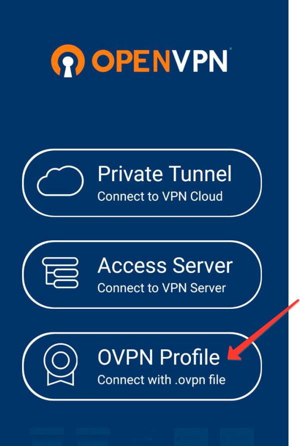 Шаг 3 Настройка OpenVPN RocketVPN Network